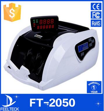 FT2050 New Money Counter Counting Machine Currency counter Counterfeit Detector UV MG Cash Bank Detector LCD Display 110V 220V zno nanoparticles uv detector