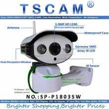 TSCAM new SP-P1803SW new Full HD 1080P 1920*1080 2.0MP CCTV IP Camera Wireless Outdoor Wifi Support Pan/Tilt Micro SD Card Slot