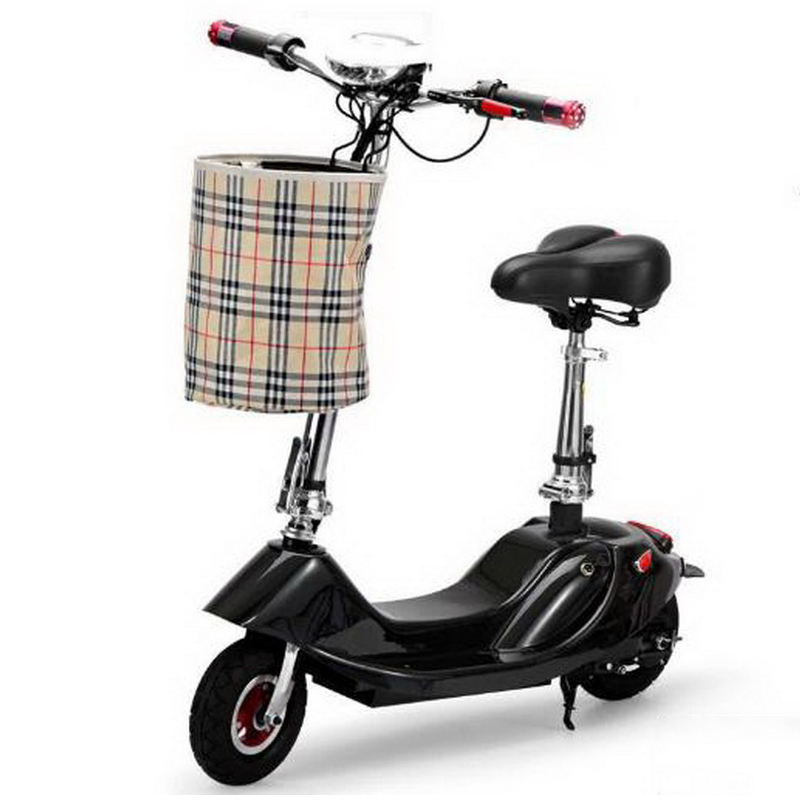Discount 261002/Ladies portable mini dolphin electric scooter / can carry children electric bikes / electric cars/Comfortable cushion 2