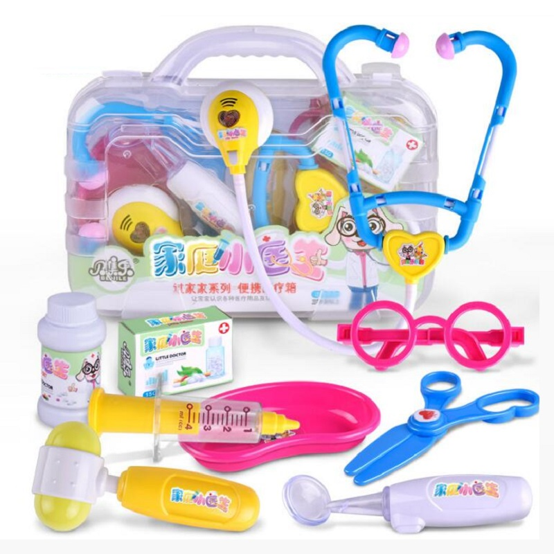 482b9b9b5 Fly AC Durable Kids Doctor Kit with Electronic Stethoscope and 9 Medical  Doctor's Equipment, Packed in a Sturdy Gift Case-in Doctor Toys from Toys &  Hobbies ...
