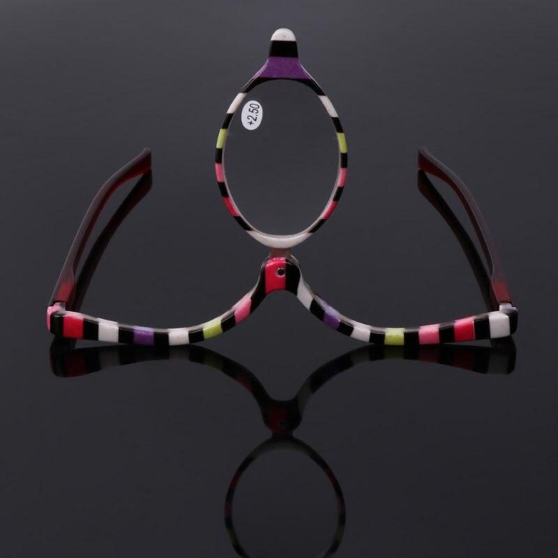 Gafas de aumento, maquillaje, cosmético, gafas de lectura plegables + 1,0 ~ + 4,0