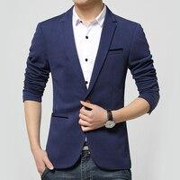 LANBAOSI Fashion Men S One Button Blazer Jackets Suits Slim Fit Casual Formal Business Jacket Blazers