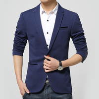 LANBAOSI Fashion Men S One Button Blazer Jackets Suits Slim Fit Casual Formal Business Jacket Blazers