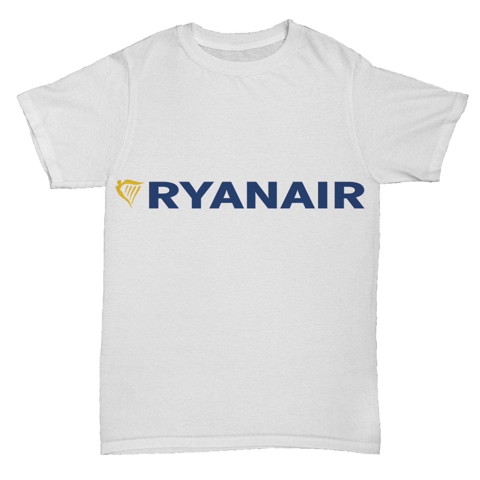 RYANAIR AIRWAYS BA AIRLINES RETRO AEROPLANE BOAC PAN AM T SHIRT Men Summer T-Shirt Summe ...
