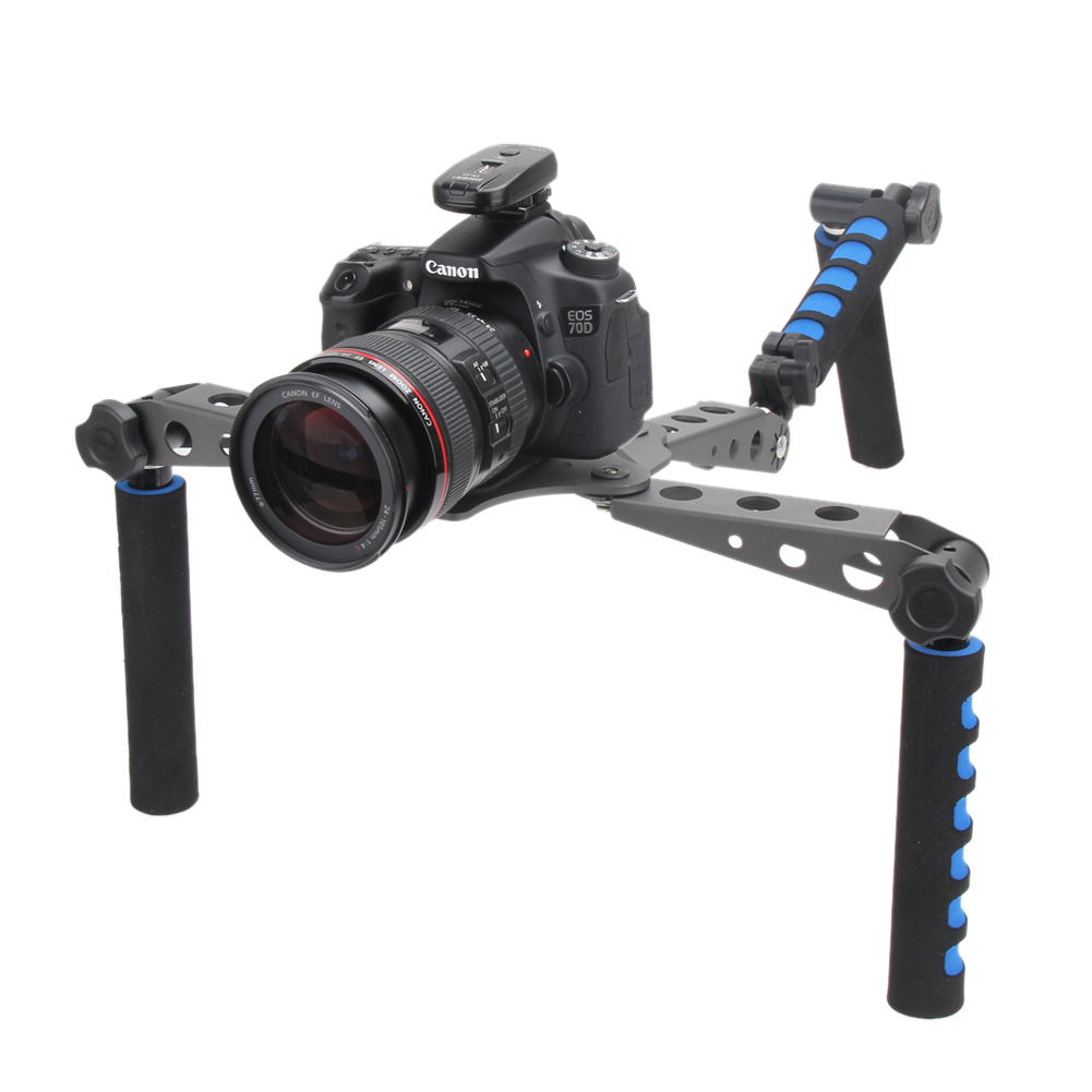DSLR Filmmaking System Shoulder Mount Stabilization Stabilizer for Canon 5D Nikon 4D Sony Panasonic DSLR Cameras