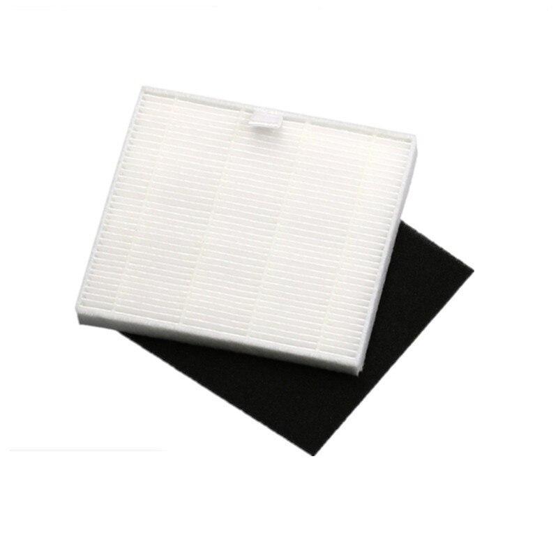 6 шт./партия пылесос боковая щетка щетки hepa фильтр, фильтры для ilife V8S V80 X800 робот-пылесос Запчасти аксессуары