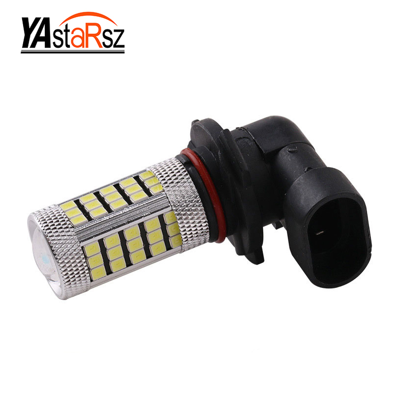 1x Car led HB4 9006 LED Bulbs High Power 2835 66-SMD LED Daytime Running Fog Light 12V Xenon White 6000K Parking Fog Light dc12v h7 7 5w 5led led fog light high power car auto led xenon white daytime running light bulbs headlight head lights