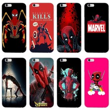 Marvel deed pool Deadpool For Nokia 2.1 3 3.1 5 5.1 6 7 plus 8 9 HTC One A9 M10 M8 M9 E9 Desire U11 case Soft phone cover(China)