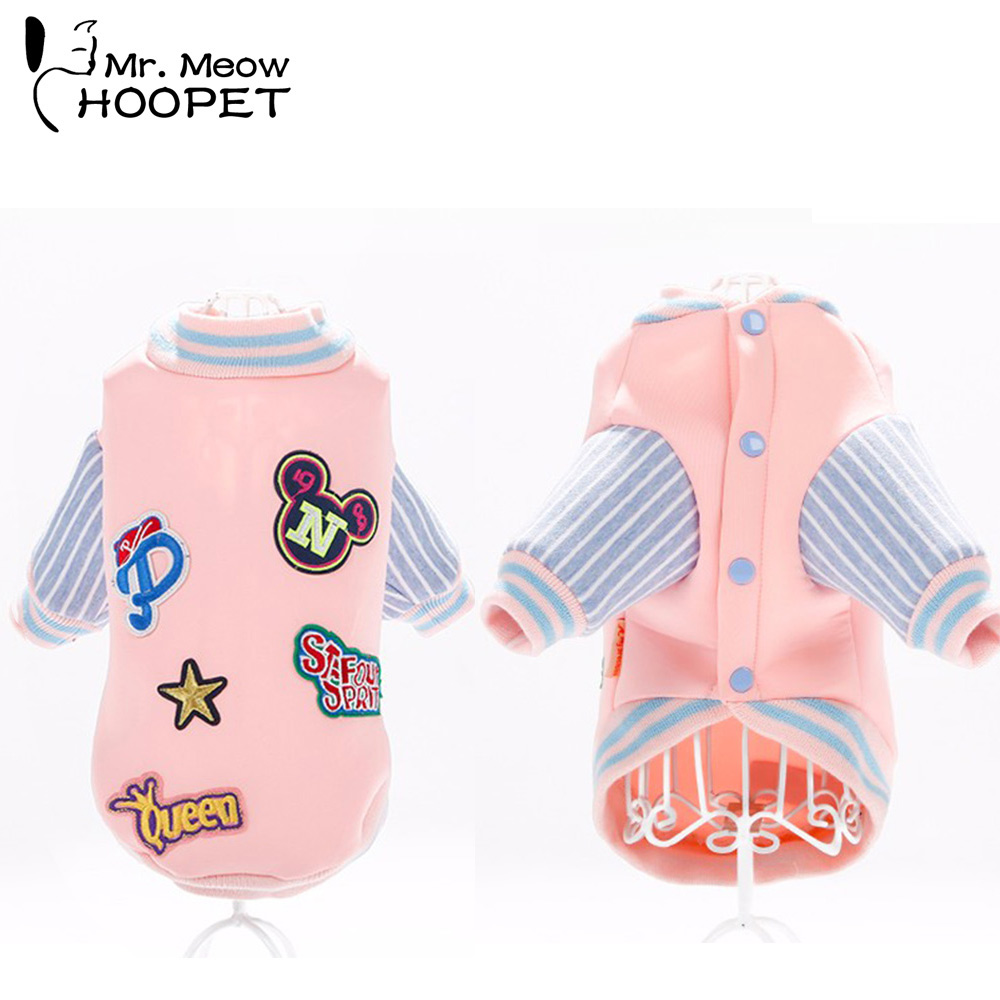 ②Mascotas insignia del uniforme del béisbol Rosa moda casual suéter ...