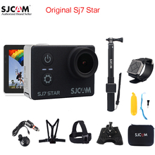 En stock d'origine sjcam sj7 star wifi 4 k tactile écran à distance Ambarella A12S75 30 M Étanche Action Sports Caméra Cam Mini DVR
