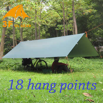 3F ul Gear Silver Coating Anti UV Ultralight Sun Shelter Beach Tent Pergola Awning Canopy 210T Taffeta Tarp Camping Sunshelter - DISCOUNT ITEM  30% OFF All Category