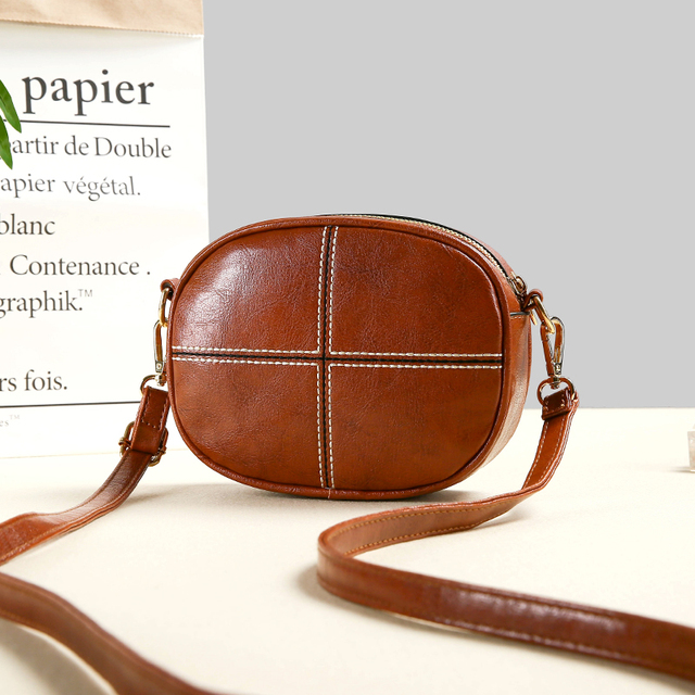 Vintage Round Cross body Bag Clutch