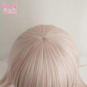 Image 4 - 【AniHut】NANAMI CHIAKI Wig Super Danganronpa Cosplay Wig Anime Cosplay Hair Synthetic Heat Resistant Women Hair