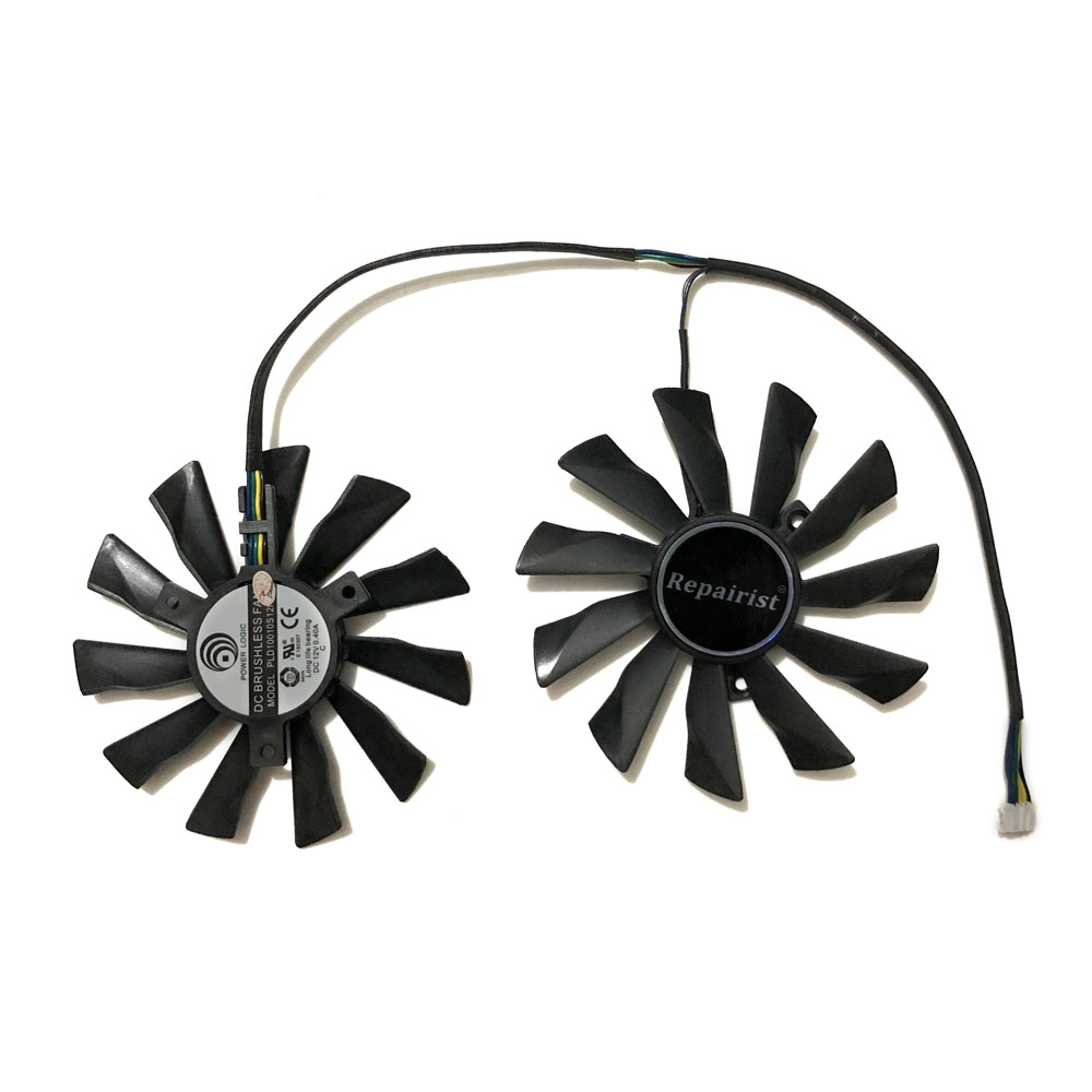 95mm 12V 0.4A 4Pin PLD10010S12HH GTX780 GTX770 Graphics Card Cooler <font><b>Fan</b></font> For MSI <font><b>GTX</b></font> 750 <font><b>760</b></font> 770 780 Twin Frozr IV Cards Cooling image
