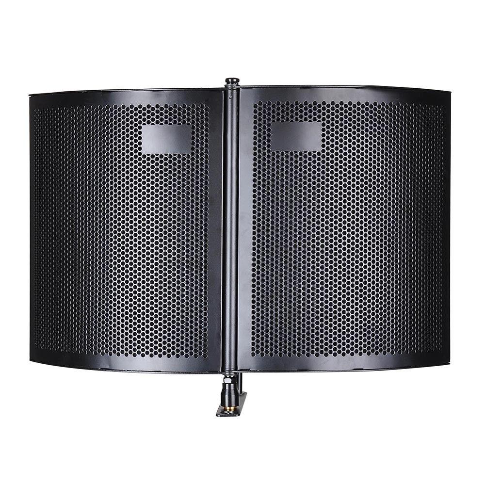 COUD-Studio Microphone Isolement Bouclier Acoustique Enregistrement Amortisseur de Bruit Panneau De Mousse - 3