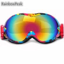 Double Skiing Eyewear ski goggles mountaineering anti – fog outdoor climbing Windproof Snowboarding anti – snow blind glasses