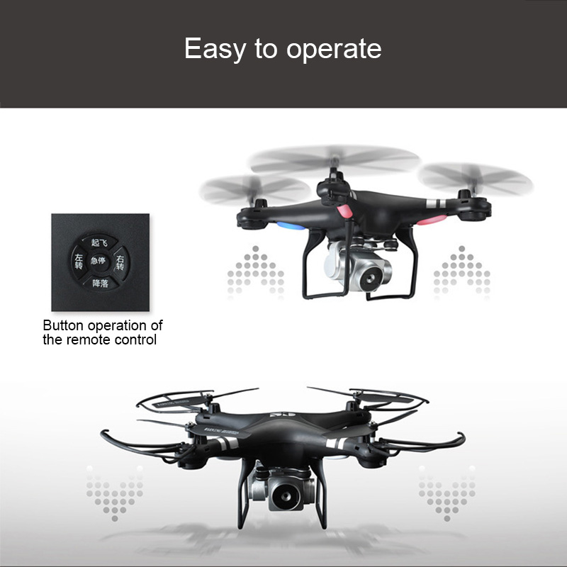 Mini Quadcopter Headless Drone Remote Control Real Time Transmission Outdoor Toy Drone YH-17Mini Quadcopter Headless Drone Remote Control Real Time Transmission Outdoor Toy Drone YH-17