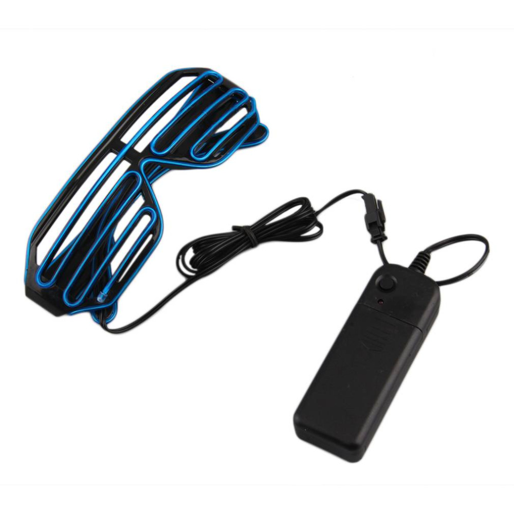 2017 Newest LED Glasses Light Up Shades Flashing Rave Wedding Party Indoor & Outdoor Night Shows & Activities Christmas Decors