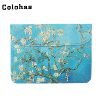 13 3 Inch Laptop Sleeve Slim PU Leather Inner Bag Women Casual Computer Briefcase For ASUS