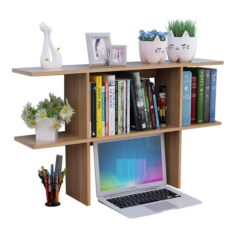 Simple Desktop Small Bookshelf Student Child Shelf Office Desk Storage Dormitory Bookcase children s bookcase shelf bookcase cartoon toys household plastic toy storage rack storage rack simple combination racks