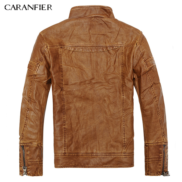 Mens Leather Jackets M-5XL 2