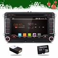 Android-автомобильный dvd vw gps-навигация Wi-Fi + Bluetooth + Радио авторадио 2 din для Volkswagen GOLF 4 5 6 ПОЛО PASSAT JETTA TIGUAN