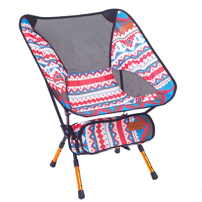 Light Moon Chair Portable Garden 7075 Chair Fishing Seat Camping