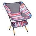 Licht Mond Stuhl Tragbare Garten 7075 Stuhl Angeln Sitz Camping Einstellbare oder Feste Höhe Klapp Möbel Indische Sessel-in Strandliegen aus Möbel bei