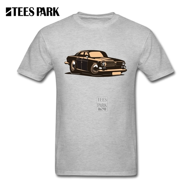 T Shirt Hombres Vector de Dibujos Animados Muscle Car Vintage Ruso ...