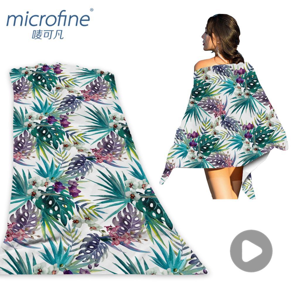 Microfine Microfiber Women Soft Sexy Beach Towel Colorful