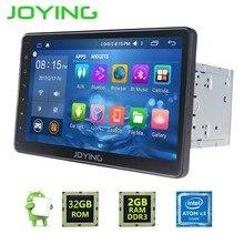 """JOYING 10.1 """"2 GB + 32 GB 2 DIN Android 6.0 de Navegación GPS Universal Car Radio Stereo Reproductor Multimedia salida de Vídeo Soporte de HU"""