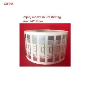 Image 5 - Smartrac rfid แบรนด์เดิมผู้ผลิต dogbone monza ชิป impinj r6 uhf rfid แท็กสติกเกอร์กาว inlay กับ epc ที่ไม่ซ้ำกัน TID