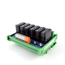 6-way original Fujitsu power relay 5-pin single-group module compatible with NPN/PNP