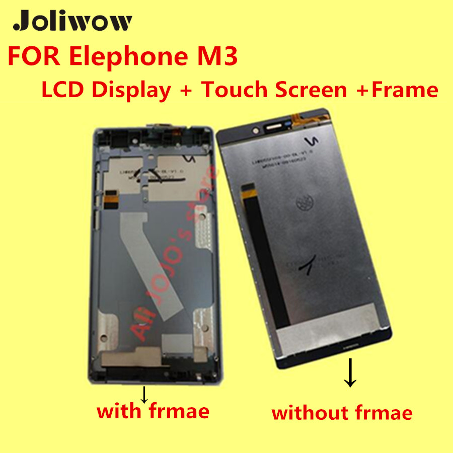 ФОТО FOR Elephone M3 LCD Display + Touch Screen +Frame+ Tools 100% Original Digitizer Assembly Replacement Accessories For Phone