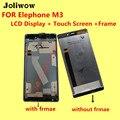 PARA Elephone M3 Display LCD + Touch Screen + Quadro + Ferramentas 100% Originais Acessórios de Substituição do Conjunto Digitador Para O Telefone