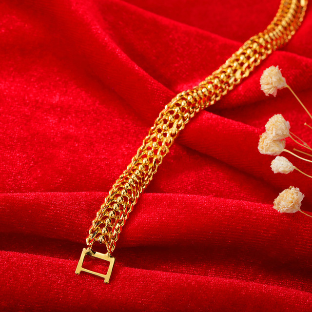 Модные аксессуары браслет из титановой стали Классический женский
