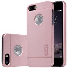 Оригинал Nillkin матовый case для iphone 5 5s cover case hard пластиковую крышку обратно для iphone se case с Подарком Screen Protector