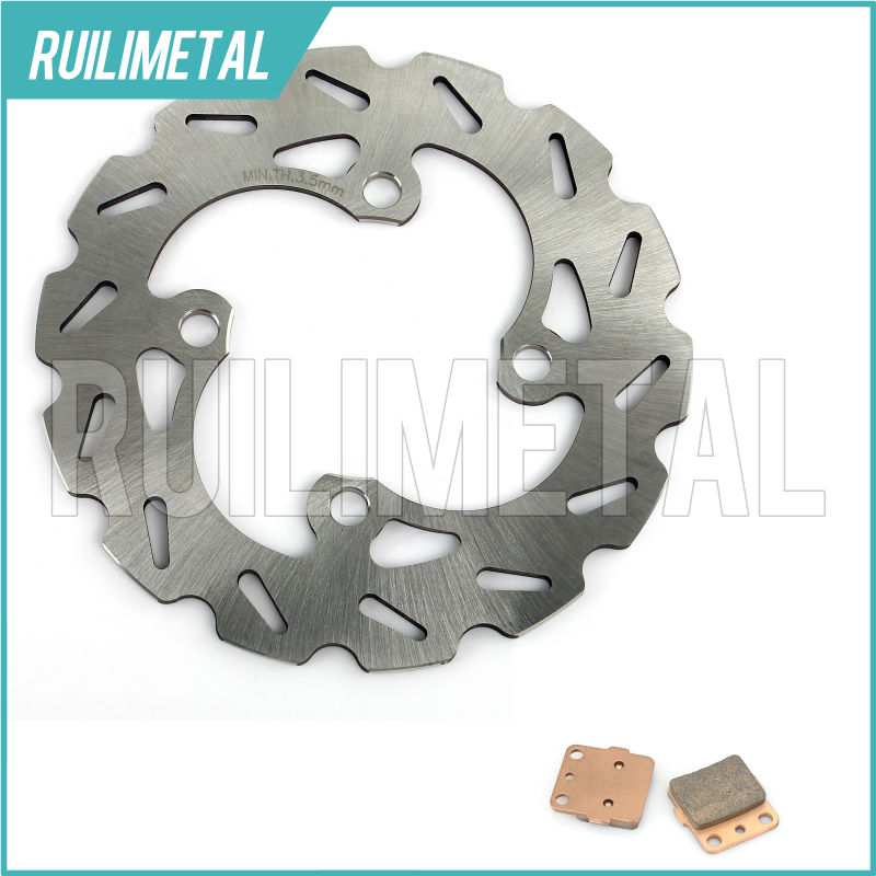 ATV New Front Brake Disc Rotor Pads Set for HONDA TRX 420 TRX-420 TRX420 07 08 09 10 11 12 13 2007 2008 2009 2010 2011 2012 2013 brake pads set for derbi gpr50 gpr 50 race replica 2008 2009 senda drd pro 50 05 07 gpr80 gpr 80 cup derbi malossi 2008