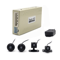 Car DVR 360 Surround Bird View Video Recorder Dash Cam Font Side Rear View 4 Camera Degree Auto Parking System 2D 1080P