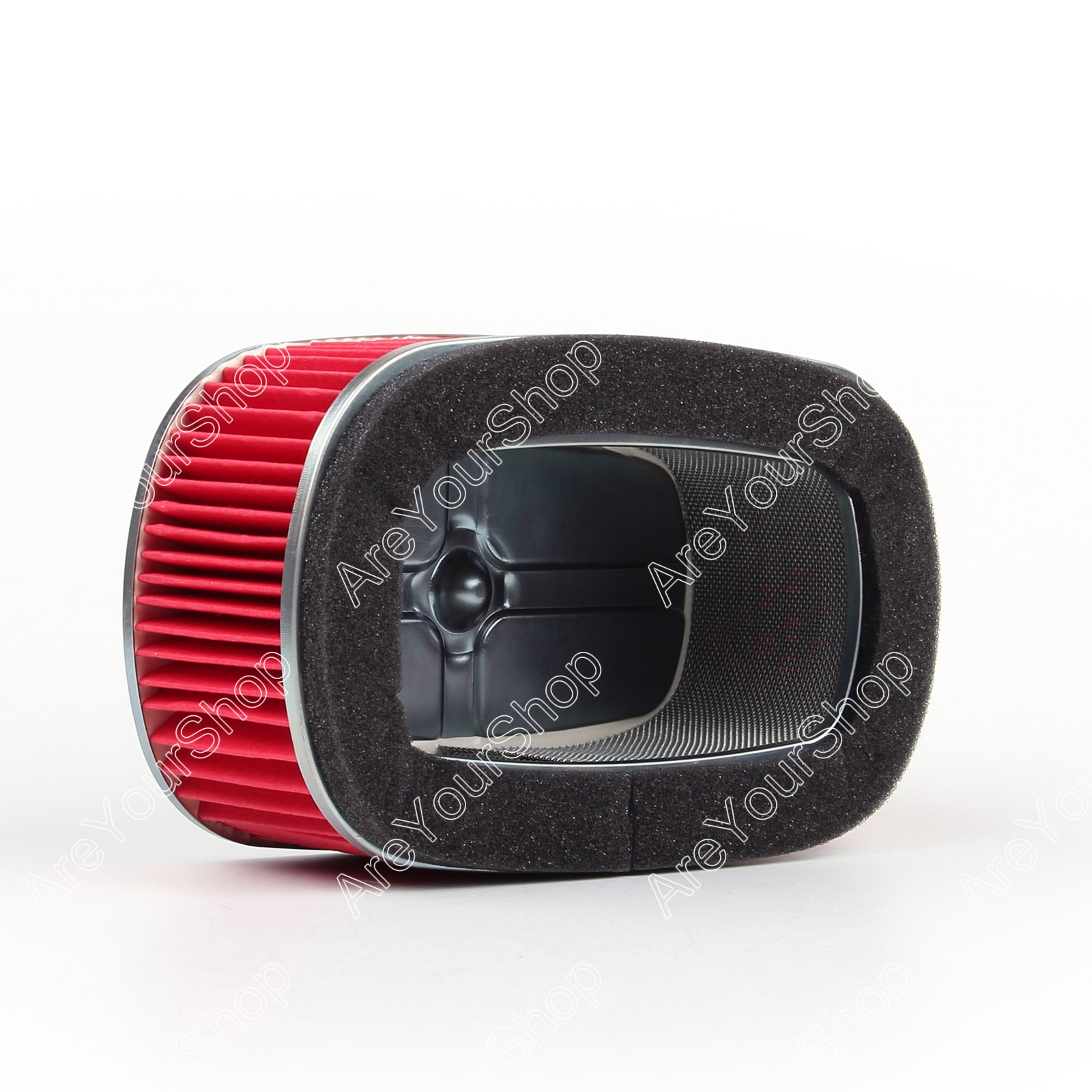 Sale For Honda XR250 XR250R XR350 XR350R XR400 XR600 Motorcycle Air Filter Motorbike OEM Air Intake Aluminum