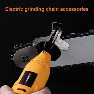 Image 2 - Kit de afilado de motosierra, amoladora eléctrica, juego de accesorios de pulido, herramienta de cadenas CLH @ 8
