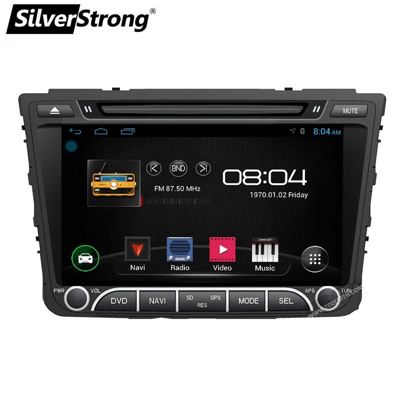 SilverStrong Android6.0 Radio Creta Car DVD for Hyundai Creta ix25 Radio 2Din CAR Stereo Android Multimedia коврики в салонные ниши синие ix25 для hyundai creta 2016