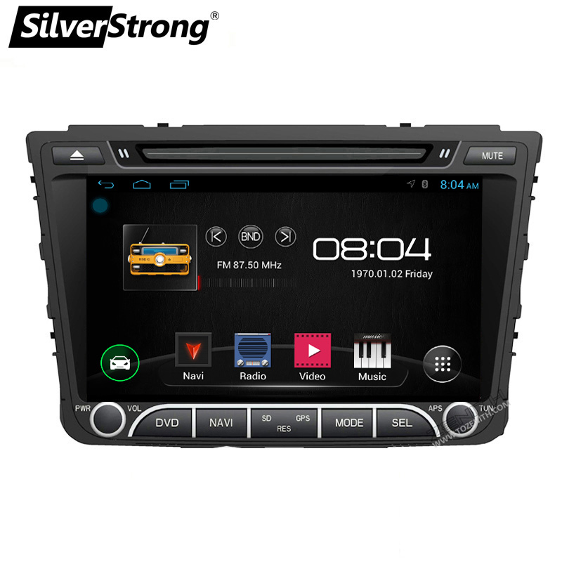 SilverStrong Android8.1 Radio Creta Car DVD for Hyundai Creta ix25 Radio 2Din CAR Stereo Android Multimedia