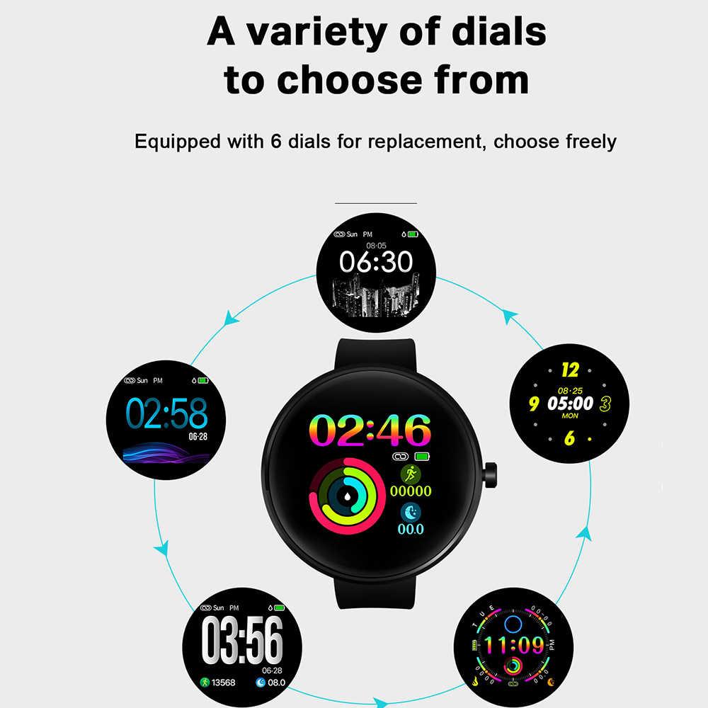 2019 ใหม่สมาร์ทนาฬิกา IP68 กันน้ำ Heart Rate เครื่องวัดความดันโลหิต LEMFO Smartwatch Fitness Tracker สำหรับชายหญิง
