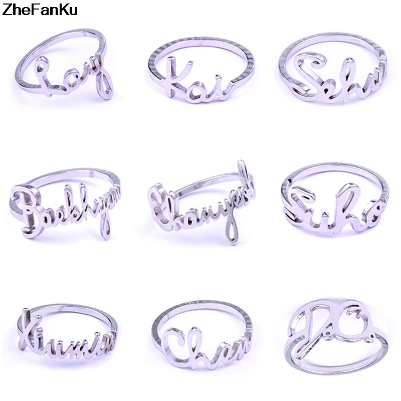 Jewelry & Accessories Brave Kpop Exo Baekhyun Chanyeol Sehun Kai Do Name Album Ring Jewelry Rings Accessories For Men And Women Female Male Boy Girl Relieving Heat And Sunstroke