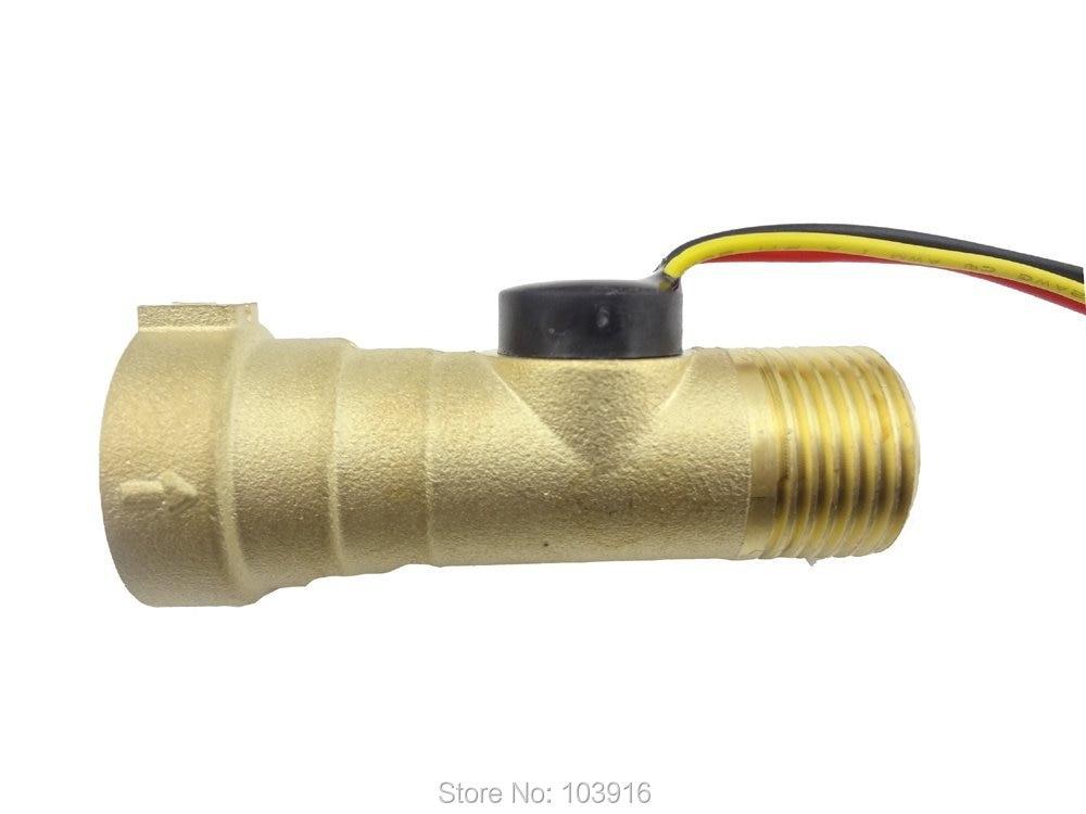 Elektronikus áramlásmérő, elektronikus áramlásmérő 1-30L / M - Mérőműszerek - Fénykép 1