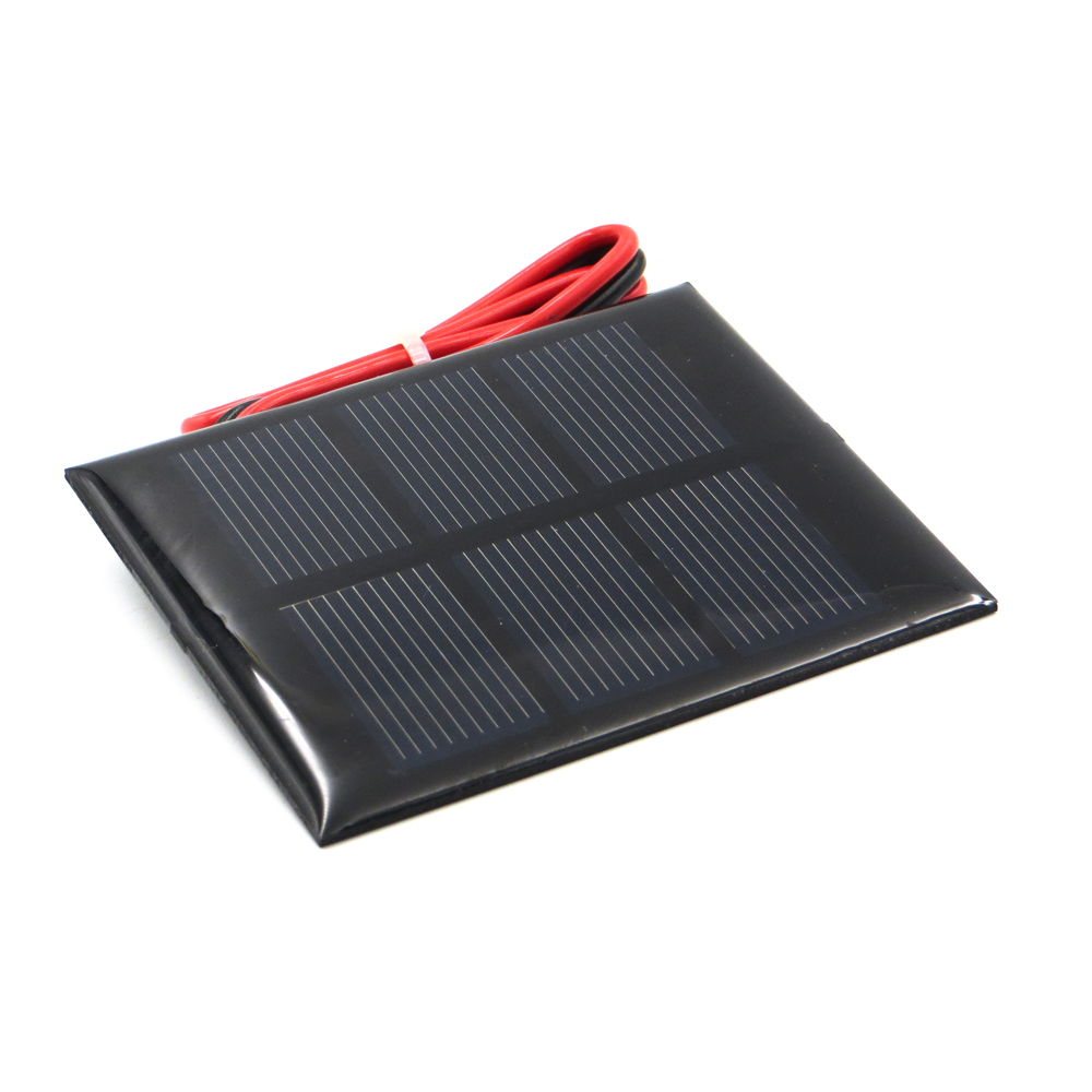 5v 840ma With 200cm Extend Cable Solar Panel Polycrystalline Silicon Cell Wiring Diy Battery Charger Module Mini Wire Toy