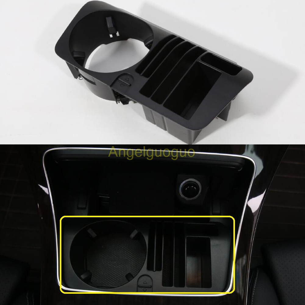 Car central storage box cup holder for mercedes benz c for Mercedes benz cup