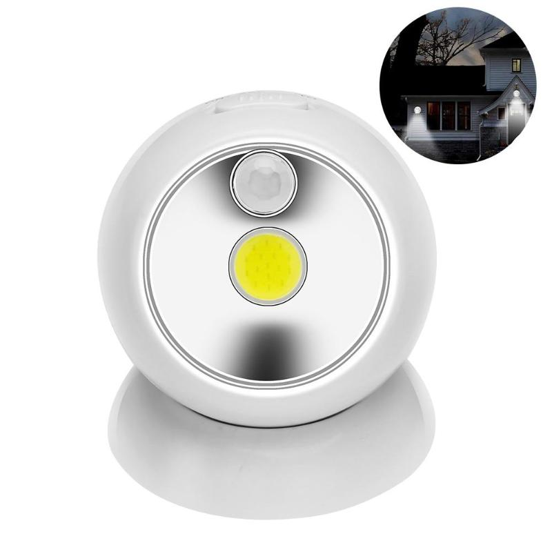 Garage Lights That Come On At Night: LED Home Small Night Light COB Induction Light Corridor
