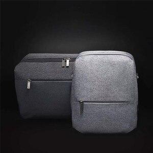 Image 2 - 업데이트 Youpin 90 간단한 도시 Messager 가방/Satchel 가방/소년 소녀 남자 여자 대용량 캐주얼 Crossbody 방수 배낭
